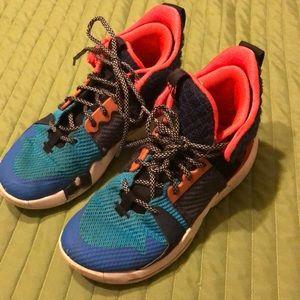 Boys Jordan Why Not multi color size 3.5